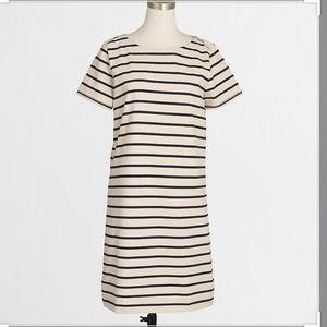 J.CREW STRIPPED T-SHIRT DRESSES WHIT ZIPPERS